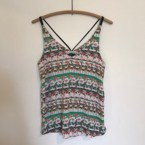 TOPSHOP Birds in Paradise Tank